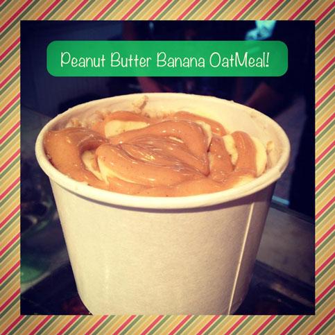 peanut butter banana out