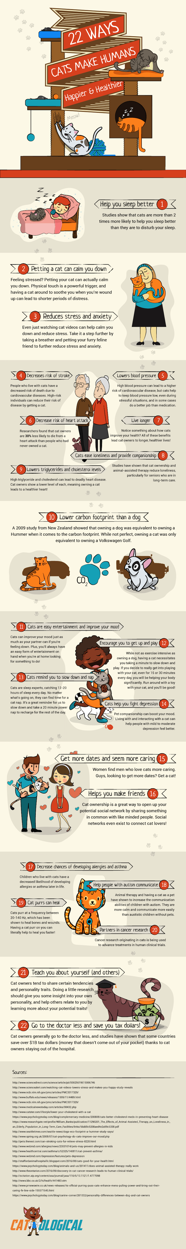 Ways Cats Make Humans Happier